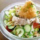 タレで楽しむ「豚しゃぶ・冷しゃぶサラダ」レシピ