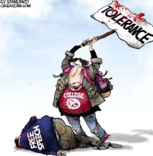 "Liberal ""tolerance...."""