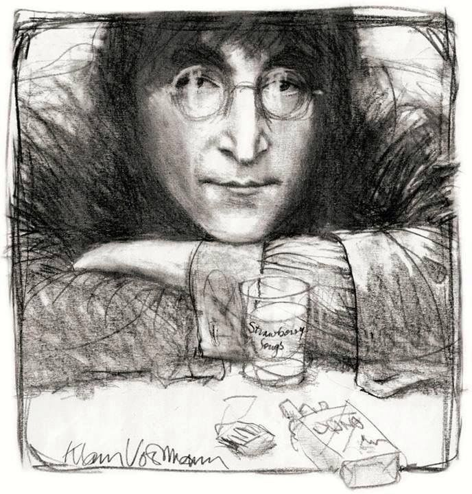 John Lennon By Klaus Voormann