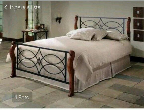 cama de ferro   camas   Pinterest   Madeira, Iron and Woods