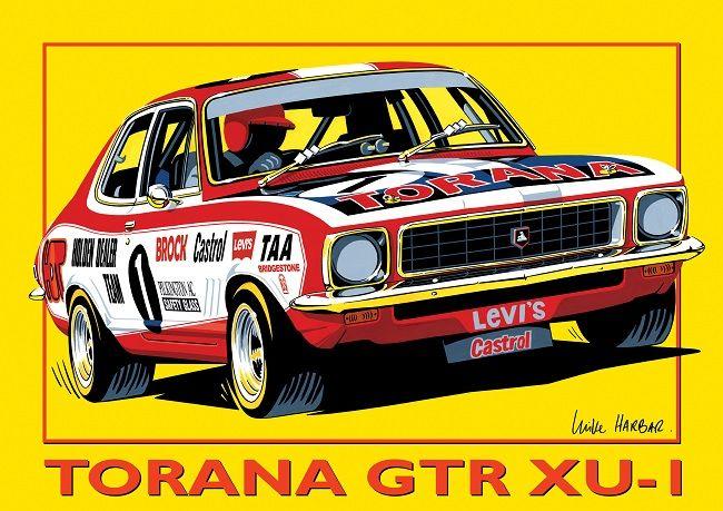 TORANA  GTR XU1