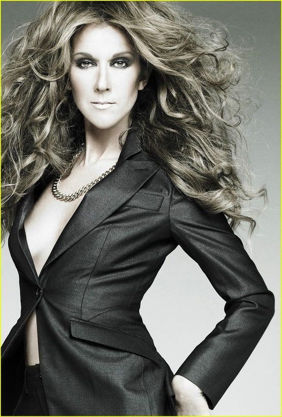 Celine Dion In Music Diva.  she's the only one who can make me cry because it's so beautiful .