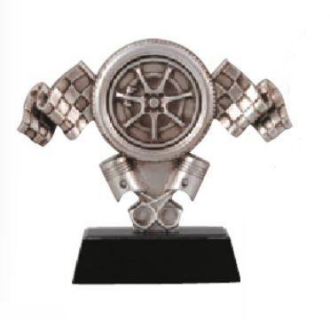 Motor Sports Racing Tire Trophy