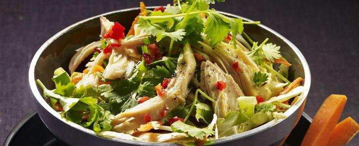 Vietnamesisk mat er frisk og lettlaget. Lime, grønnsaker, chili og urter er faste ingredienser, og er selvfølgelig med i dagens oppskrift.