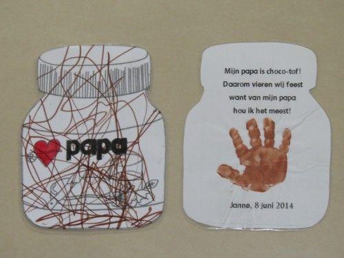Afbeeldingsresultaat voor vaderdag knutselen peuters