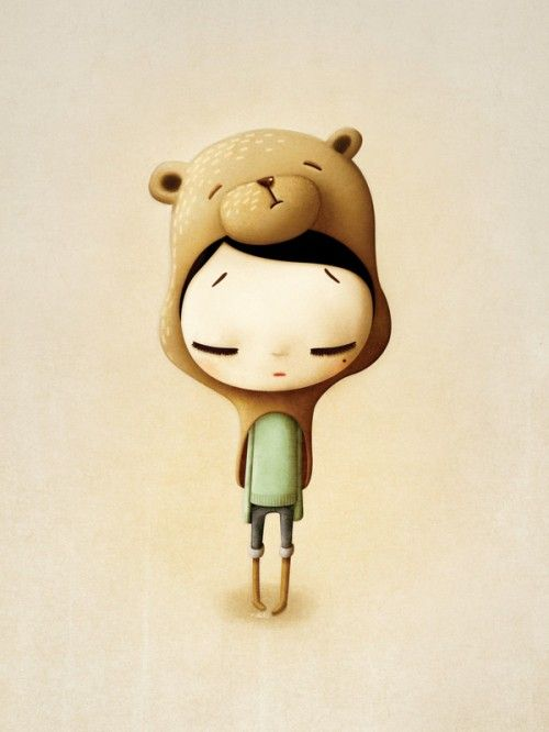 Teddy is Dead - Character Illustration 2