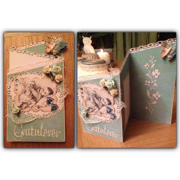 Dåpskort/nyfødtkort
