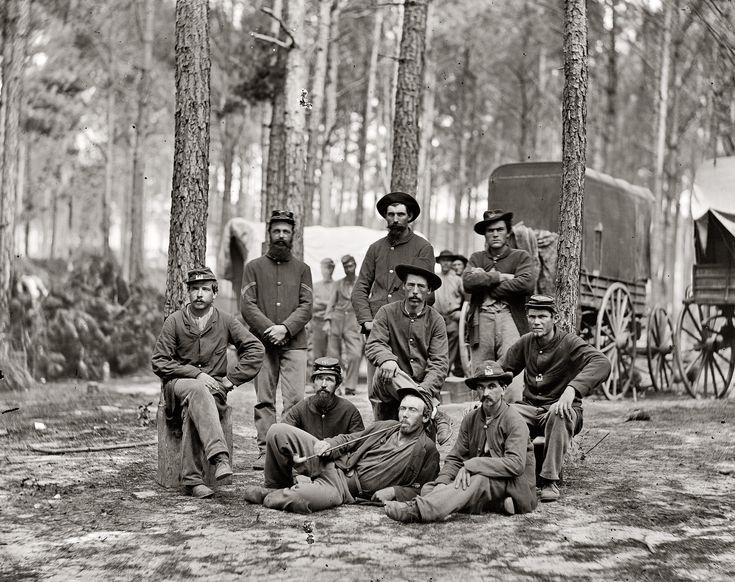 Shorpy Historical Photo Archive :: Company B: 1864