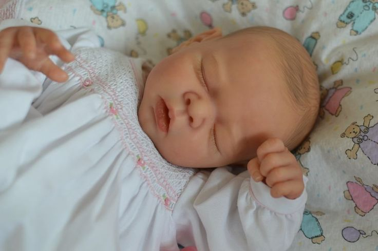 MARIAN ROSS TWIN ONE! Reborn Baby Girl Doll ERIN ADRIE STOETE Signed Body