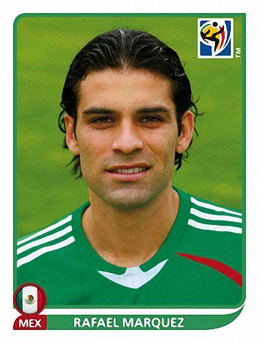 56 Rafael Marquez - México - FIFA World Cup South Africa 2010