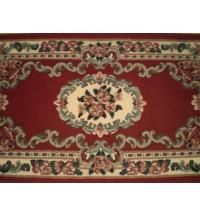 MING Beautiful RED Hand Made CARPET RUG