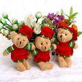 Chapéu da neve Vestido de Mini Brinquedos de Pelúcia Pequeno Homem Chave Pingente Cadeia Promoções OPP Natal Urso de Pelúcia Macia Brinquedos em Stuffed & Plush Animais de Brinquedos Hobbies & no AliExpress.com | Alibaba Group