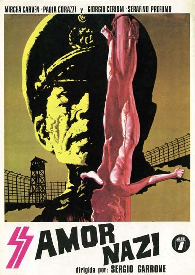 """Amor nazi (1976) """"Lager SSadis Kastrat Kommandantur"""" de Sergio Garrone - tt0074768"""