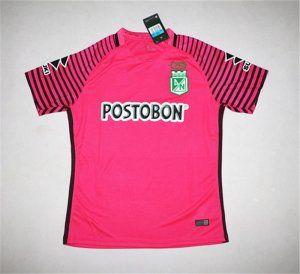 Atletico Nacional Medellin 17-18 Season 70th Anniversary Pink Jersey [J733]