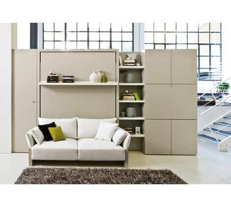 Nuovoliola 10 | ResourceFurniture: Guest Room, Idea, Murphy Beds, Home Office, Space Saving, Wall Beds