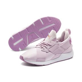 fa05475d Thumbnail 1 of Muse Satin II Women's Sneakers, Winsome Orchid-Smoky Grape,  medium