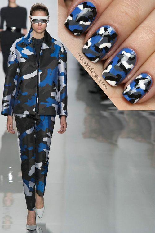 Best Camo Nail Designs Ideas