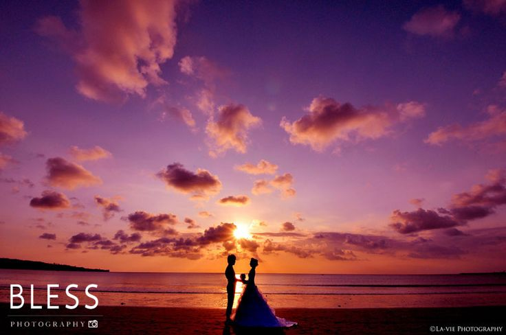 Pre-wedding photo , Bali. #bali #beach #sunset #wedding