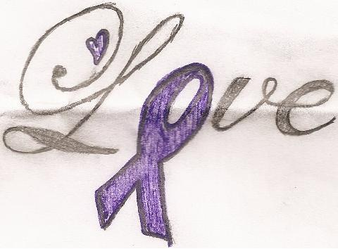 I would love this as my first tattoo to support pancreatic cancer. and support my grandpa that passed away on May 24, 2011