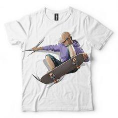 Koszulka Skater- Koszulki i bluzy 3D, T-shirty, tshirty, koszulki 3D z nadrukiem, koszulki damskie, koszulki męskie, koszulka, koszulki - Tulzo