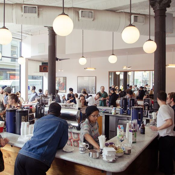 La Colombe Coffee Roasters - check out the NoHo location