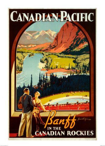 Love vintage tourism posters