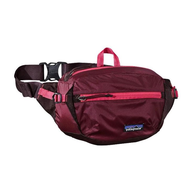 Patagonia Lightweight Travel Hip Pack 3L - Oxblood Red OXRD  ... this is a fanny pack. and i want it.
