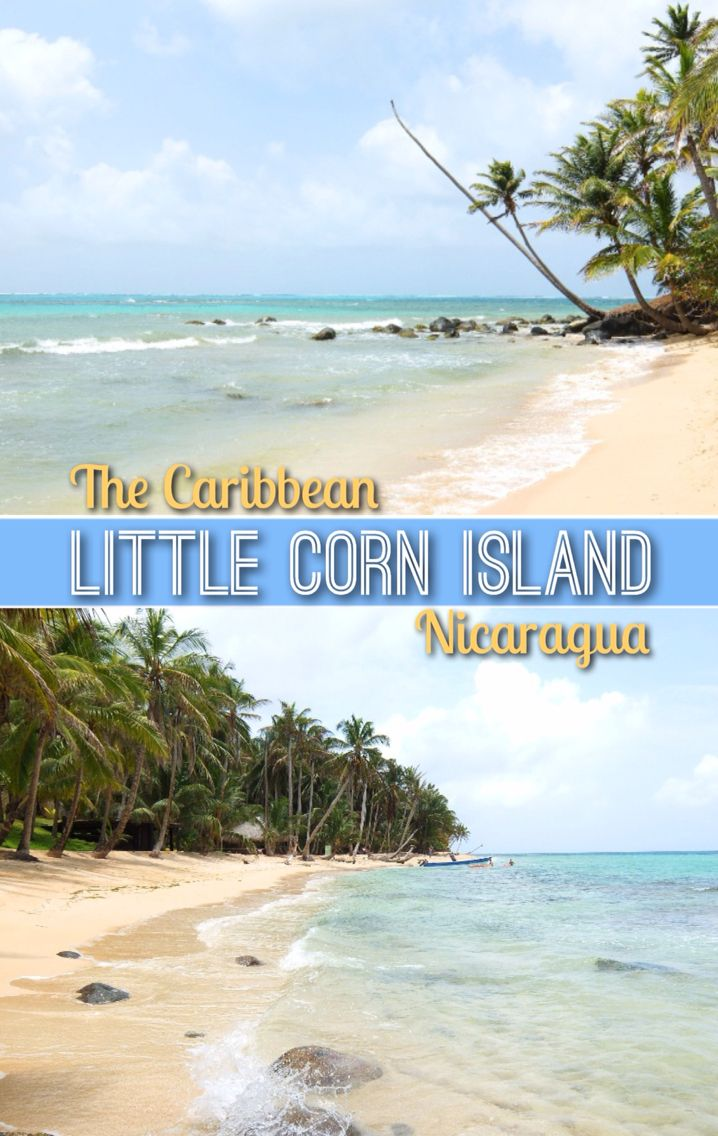 Political Map Of Central America And The Caribbean%0A The Caribbean on a Budget  Little Corn Island  Little Corn Island NicaraguaSouth