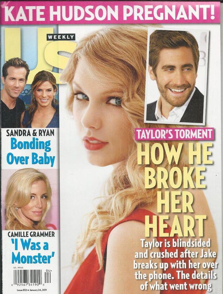 US Weekly magazine Taylor Swift Jake Gyllenhaal Sandra Bullock Ryan Reynolds