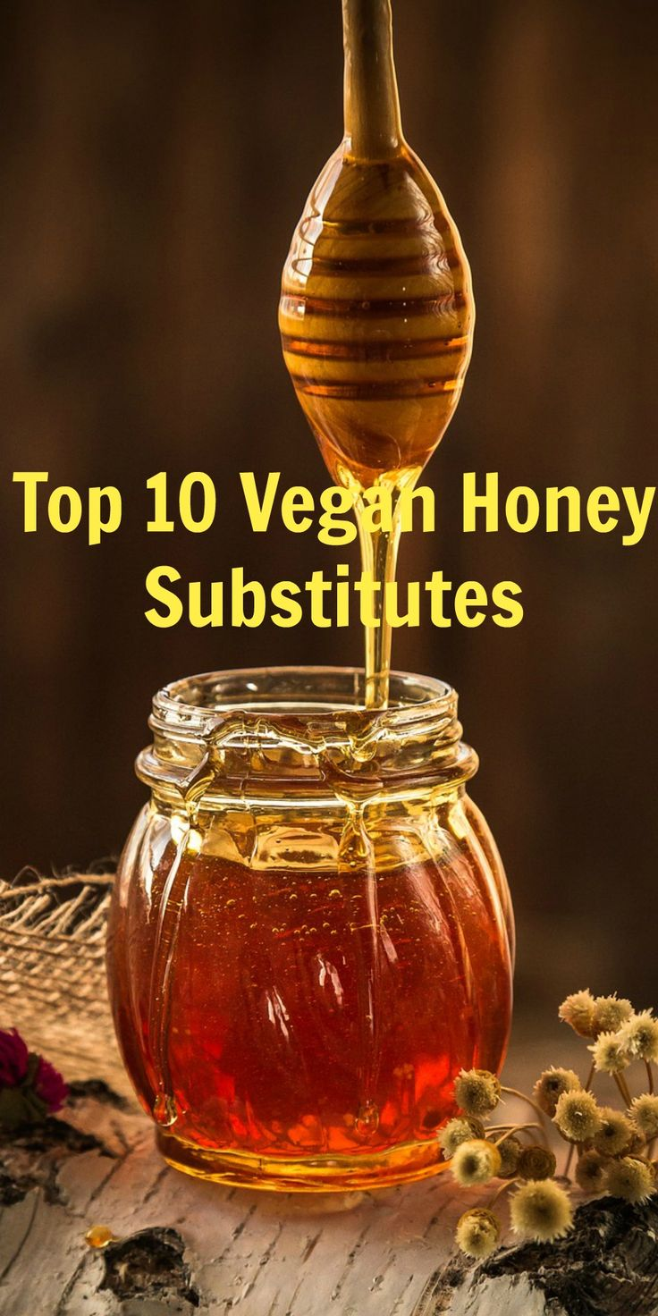 TOP 10 VEGAN HONEY SUBSTITUTES