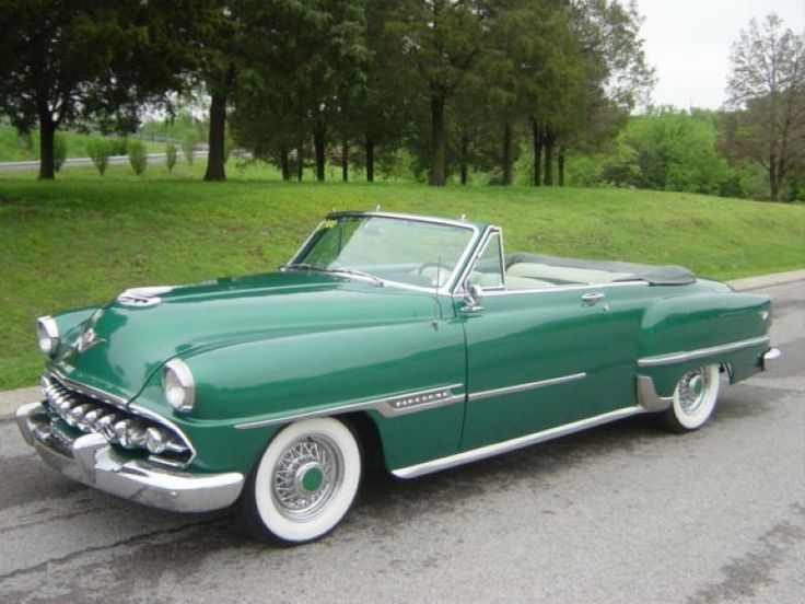 1954 DeSoto Firedome Convertible Maintenance of old vehicles: the material for new cogs/casters/gears could be cast polyamide which I (Cast polyamide) can produce