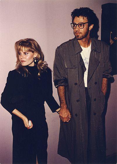 Rick Springfield w/wife, Barbara