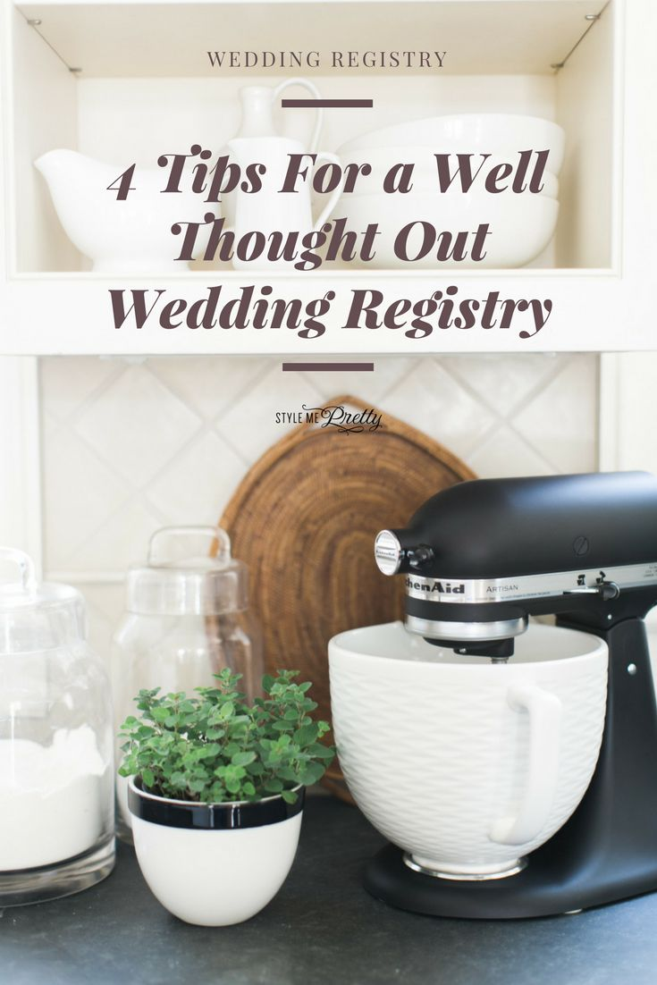 4 Tips For a Well Thought Out Wedding Registry | Photography: Ruth Eileen - http://rutheileenphotography.com/