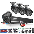 SANNCE 8CH 1080N HDMI DVR Outdoor 1500TVL Video CCTV Security Camera System 1TB