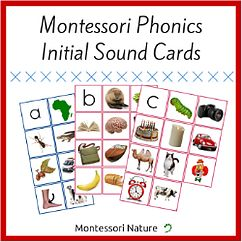 Montessori Inspired Printables for Children from 0 - 5 years of age. Educational Materials
