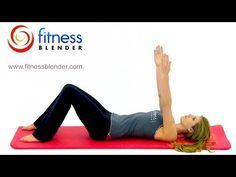 Low Impact Beginner Pilates Workout - Great Post Pregnancy Workout for New Mothers