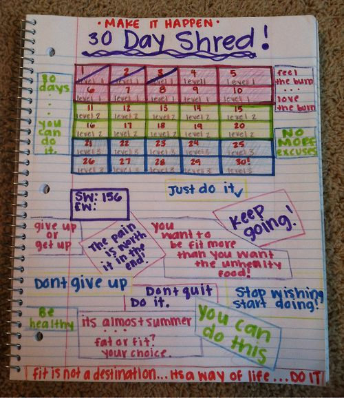 i need to make this for myself!! set a goal and achieve it!