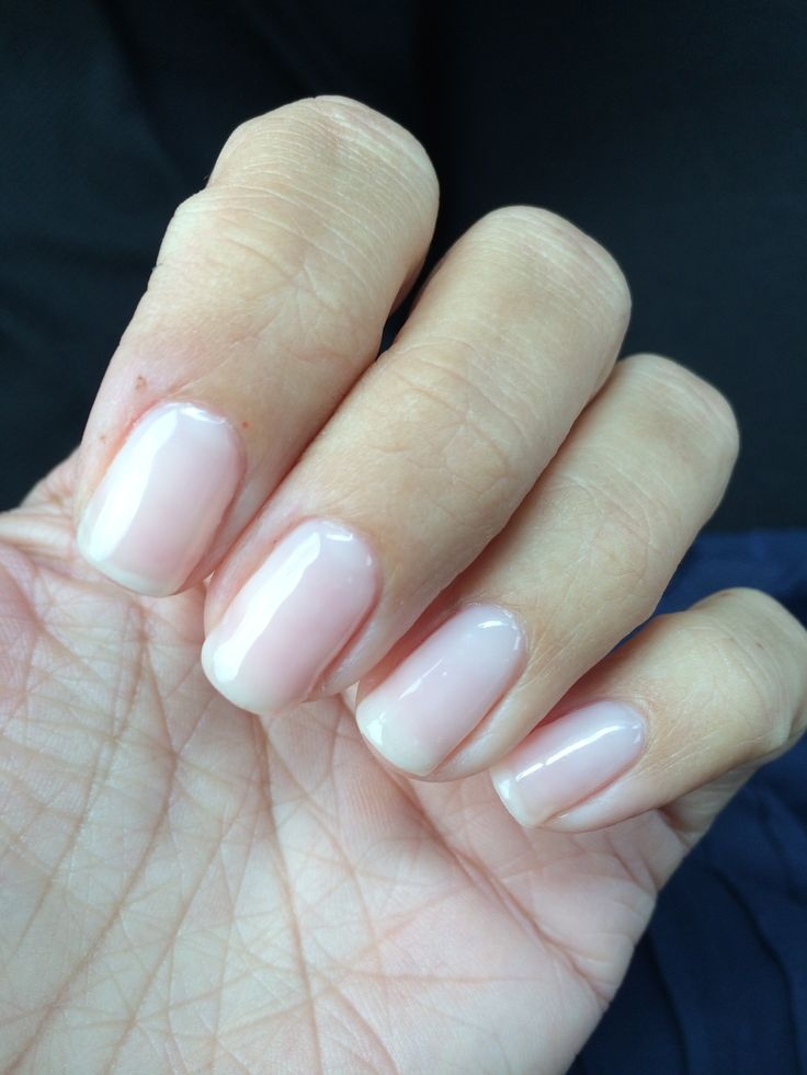 gel extensions nude - Google Search