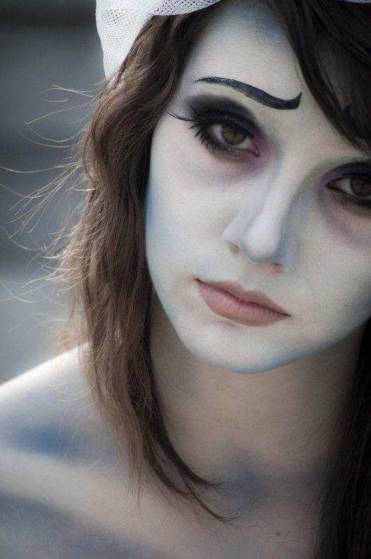 Resultado de imagen para maquillaje de fantasma guapa