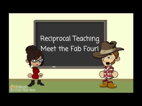 Explanation of Reciprocal Teaching roles for young students (Grades 1-4).