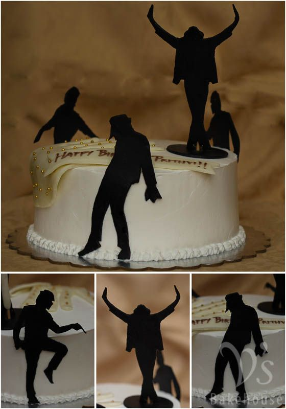 Michael Jackson theme cake. Cake flavor: choco caramel dream,  alternating layers of chocolate and caramel cake filled with dark chocolate ganache and caramel sauce frosted with fresh cream.