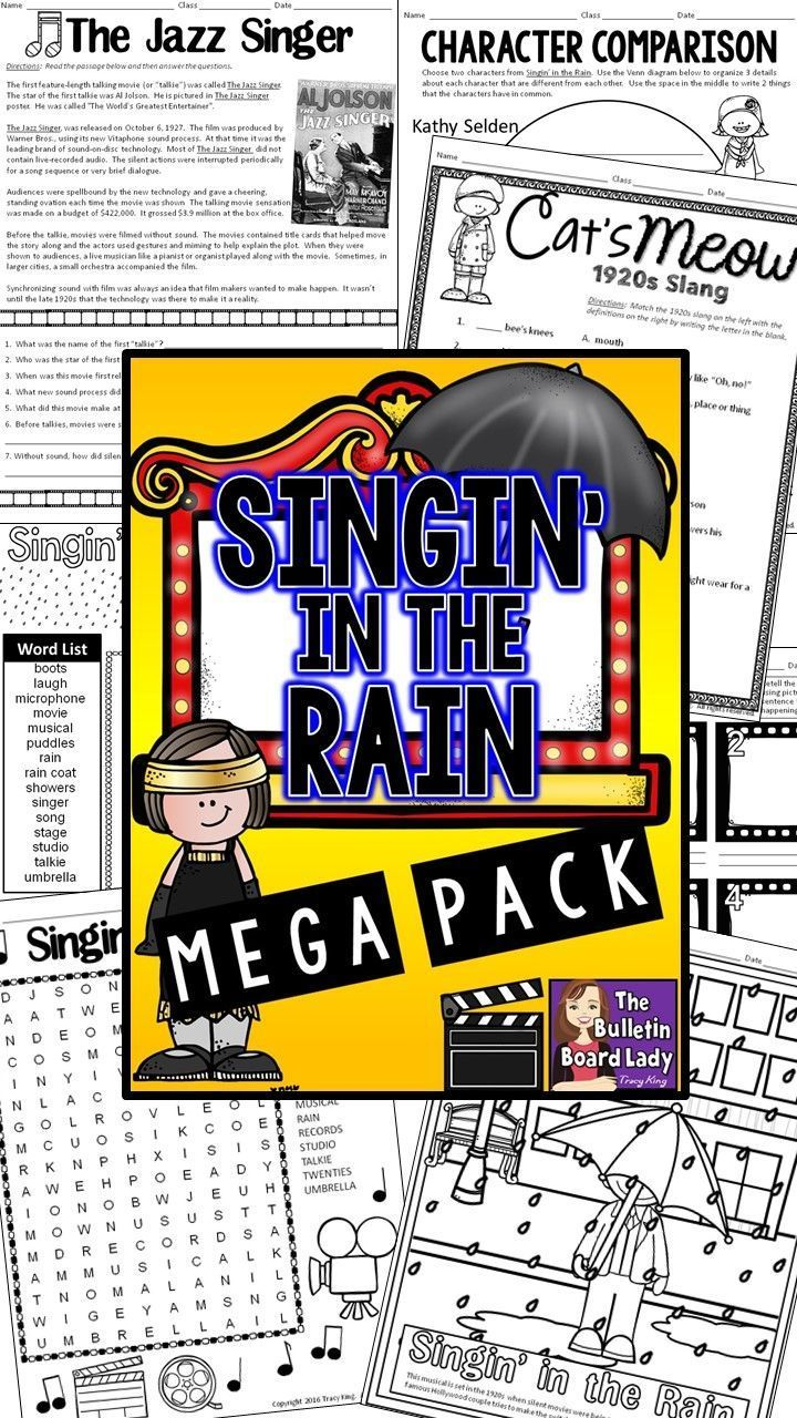 singing in the rain essay Singin' in the rain is a fancy package of musical entertainment with wide appeal and bright grossing prospects concocted by arthur freed with showmanship know-how.
