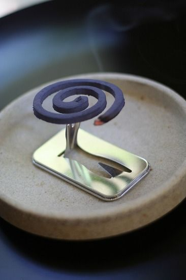 "collectorandco: "" incense / 蚊取り線香 / happy days """