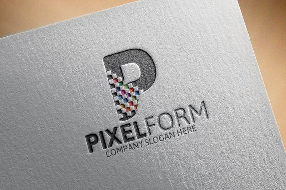Pixel Logo by Josuf Media on @creativemarket