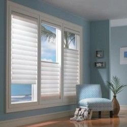 If you have truly awful view from your window or really bad neighbours, install a creative window treatment.  It'll makes a real statement in the room AND take the eye away from what's outside!  Interiordesignpro.org
