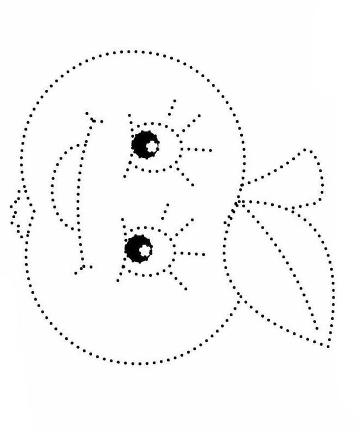 Картинки точечный рисунок для детей