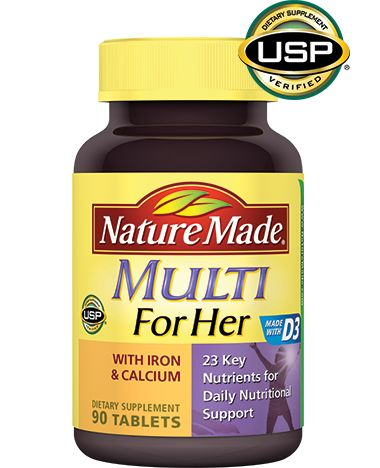 Nature Made Multi For Her Tablet (choose Nature Made products that are labeled Gluten Free)