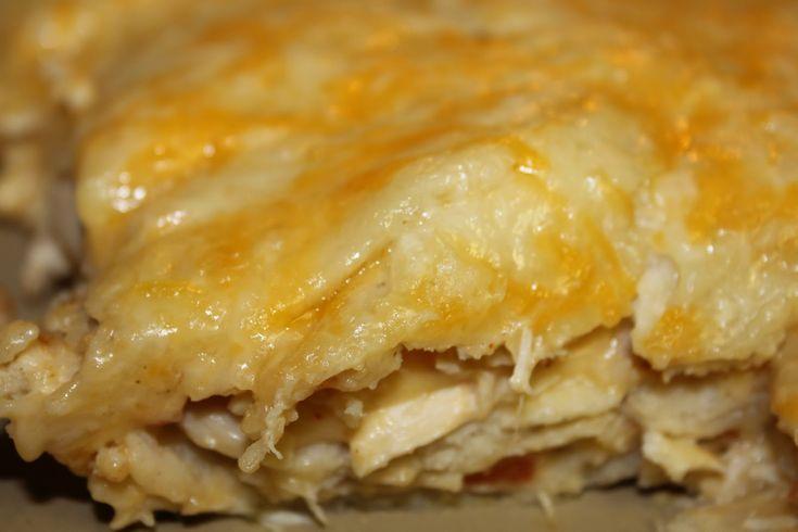 Paula Deen Chicken Enchilada Casserole | Mexican Chicken Casserole