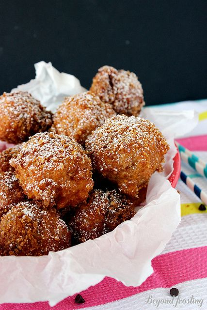 Deep Fried Cookie Dough by Beyond Frosting, via Flickr