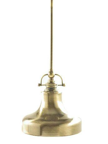 Home Depot Mini Pendant Brass Light. $13.99